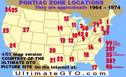 USA GTO Zones
