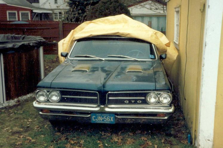 John's old 1964 GTO