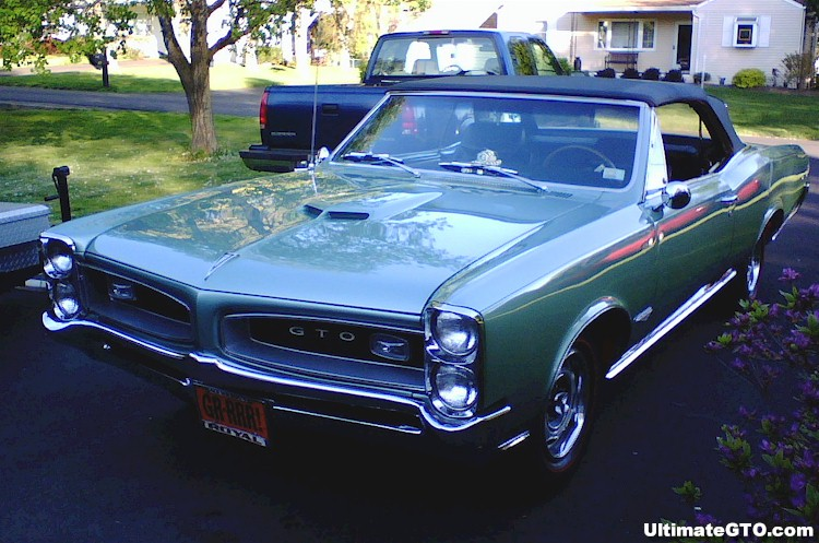 Green 1966 GTO Convertible - Ultimate Pontiac GTO Photo Detail