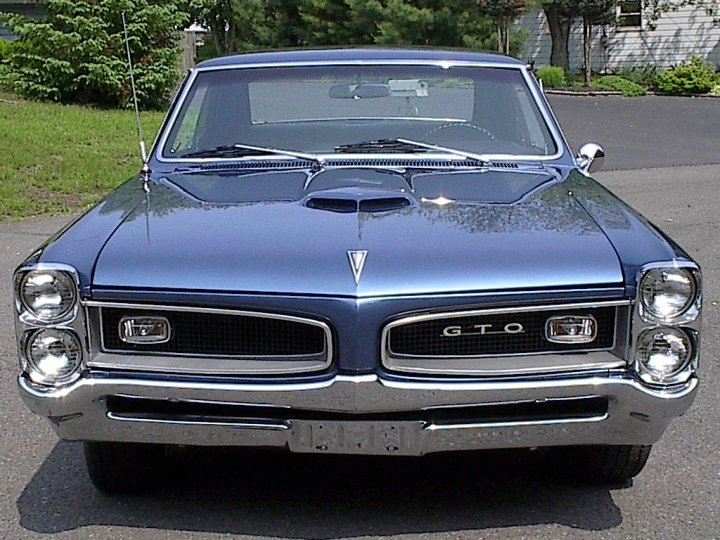 Related Pictures 1966 pontiac gto barrier blue w black top highway 61 ...