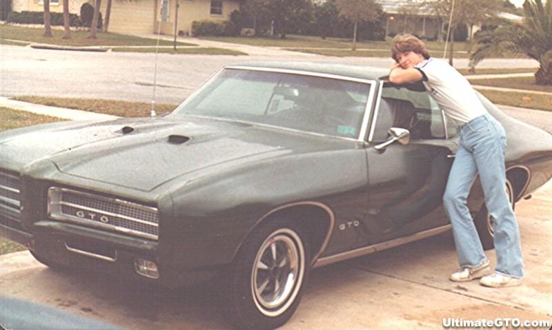 Wayne's old 1969 GTO