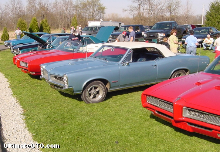 a gathering of GTO fans
