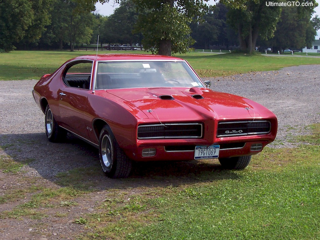 Red 1969 GTO Hardtop
