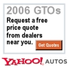 2006 GTO quote from Yahoo Autos